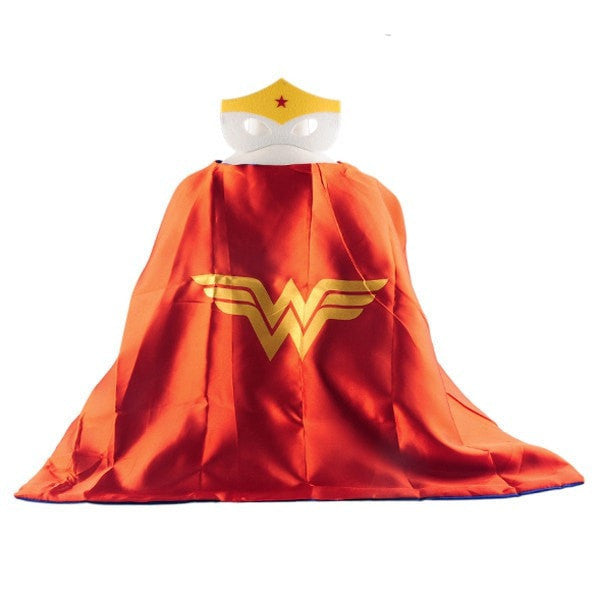 Mask + Cape Kids Superhero Costume Suits