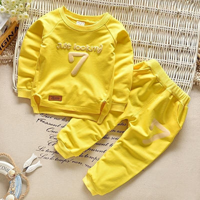 Children Cotton Clothing Sets T-Shirt + Pants