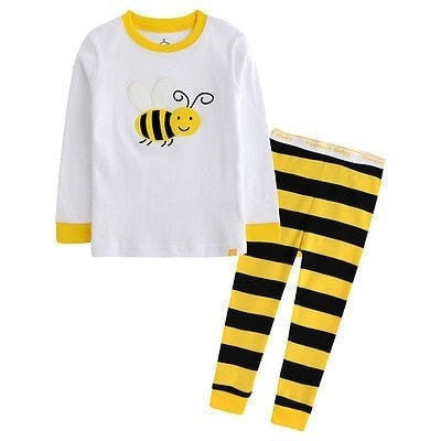 Child Ladybug and Bee Cotton Sleepwear