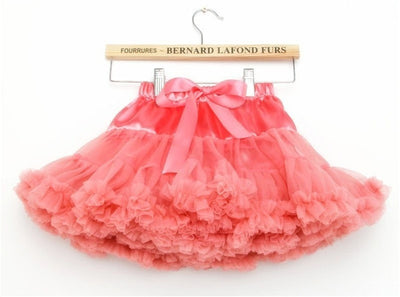 Girls Fluffy Princess Tutu (Size 4-8)