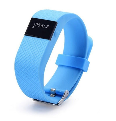 Fitness HR Smartband Bluetooth Heart Rate Monitor, Pedometer, Calories, Sleep