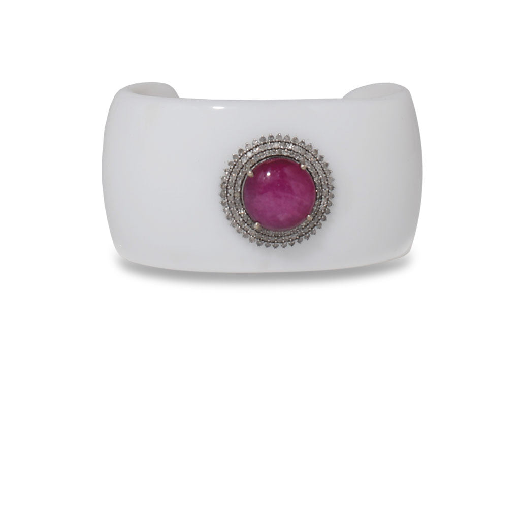Evening Delight Red Star Sapphire