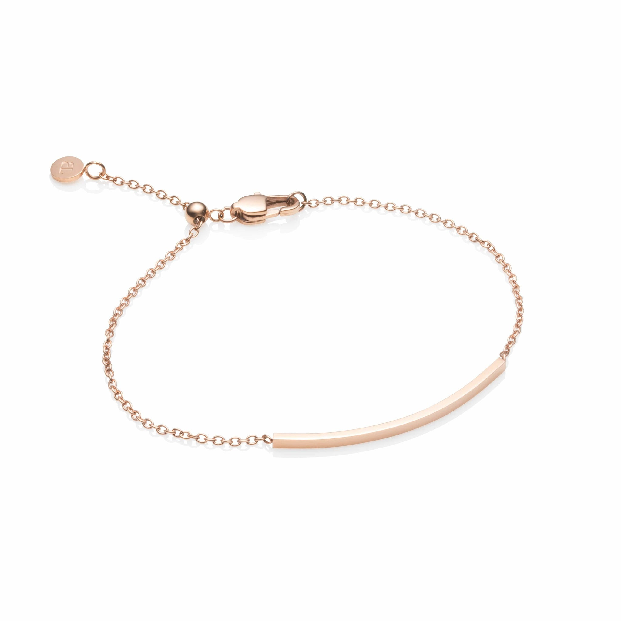 Little Luxe Bar Armband (Rose Gold)