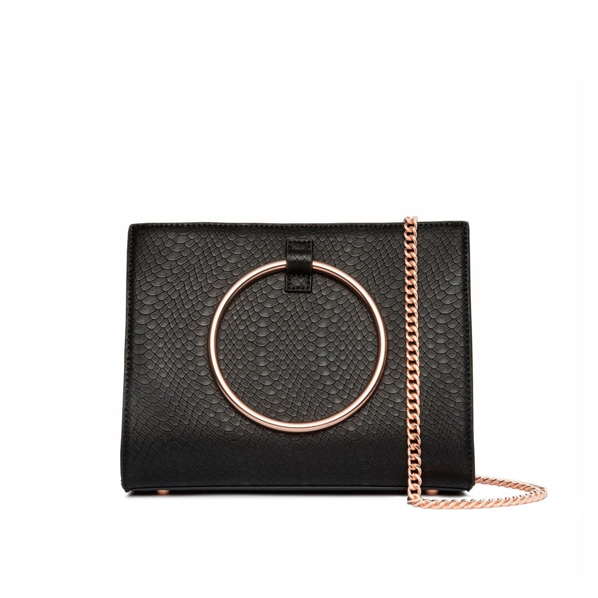 Moda Handtasche (Jet Black/Rose Gold)