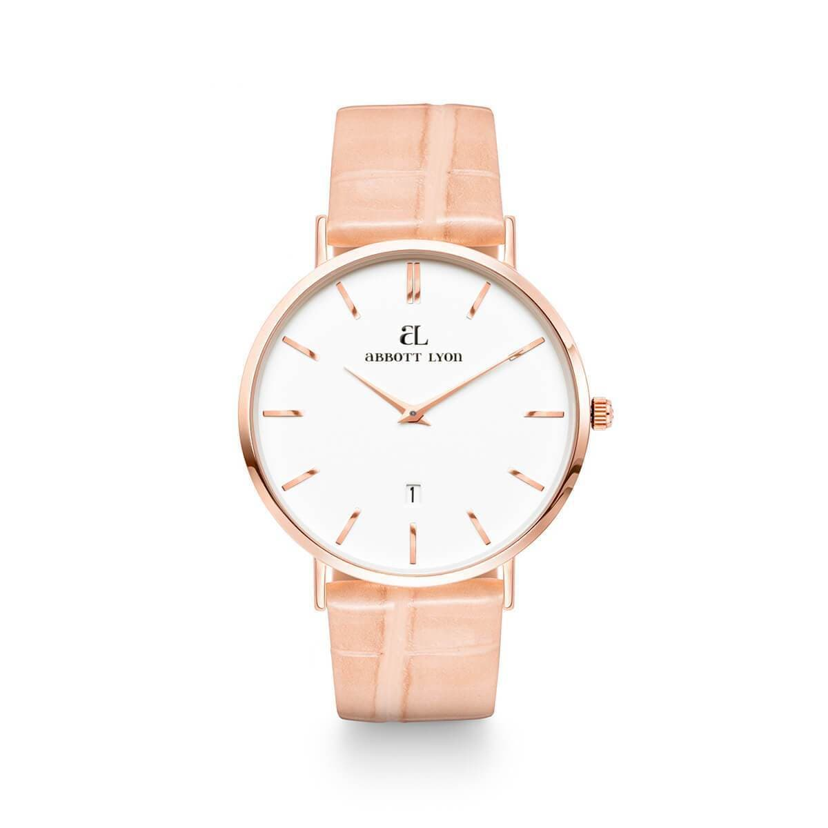 Nude Peach Patent Kensington Rose Gold 40
