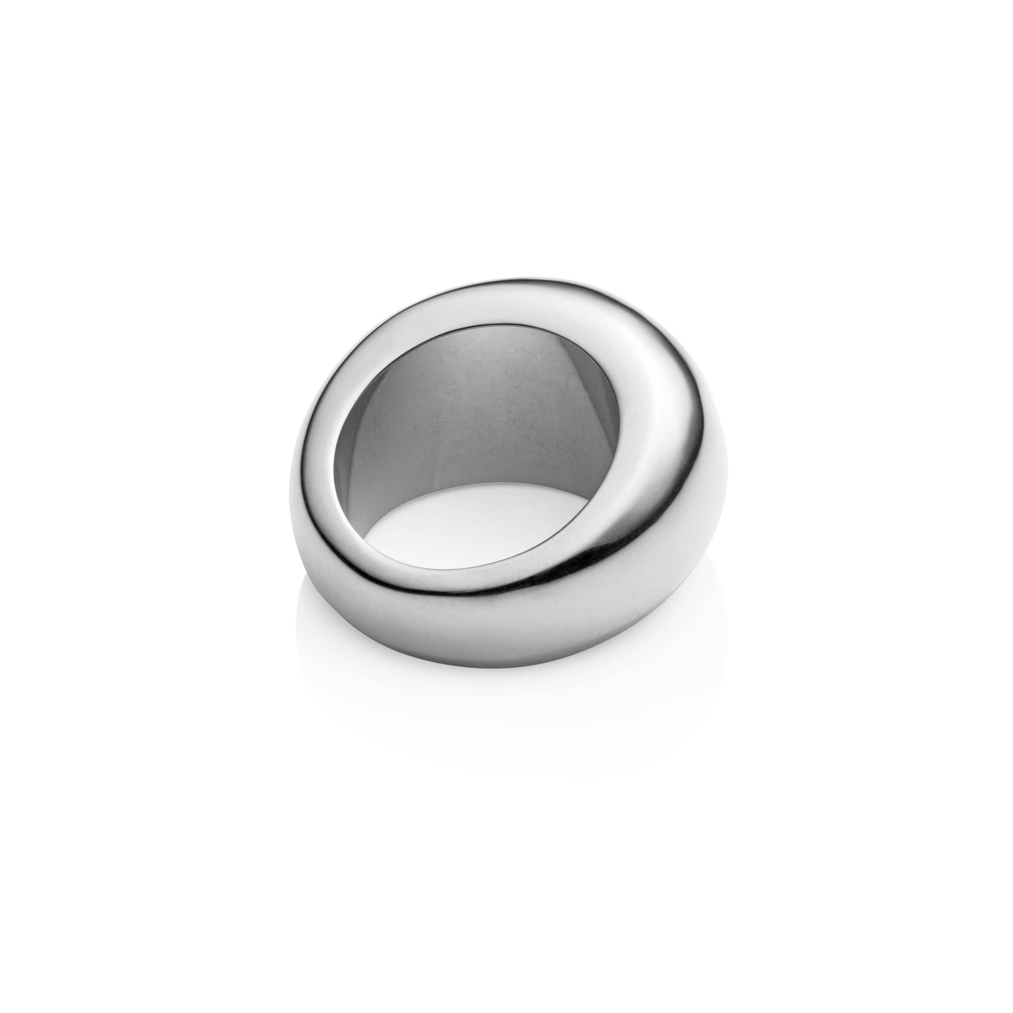 Chunky Cylinder Ring (Silver)