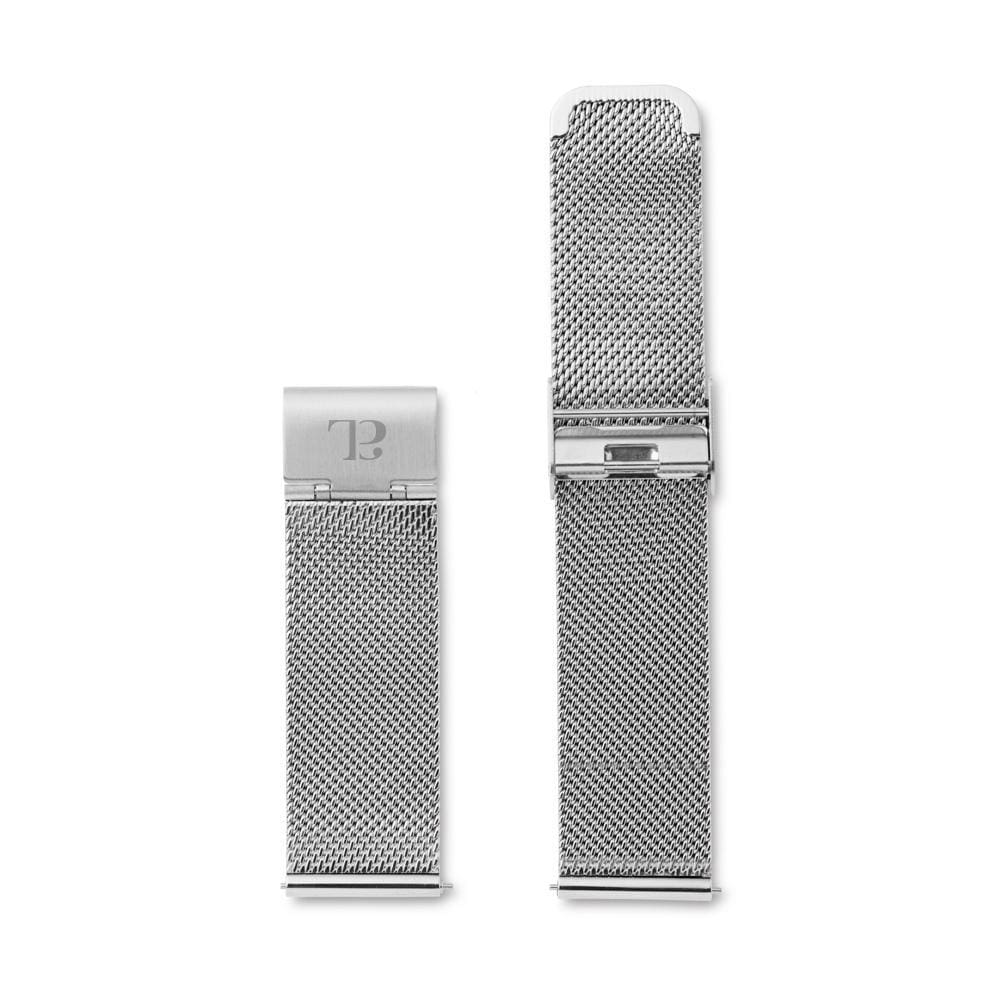 Silbernes Mesh Armband 40 (Silver)