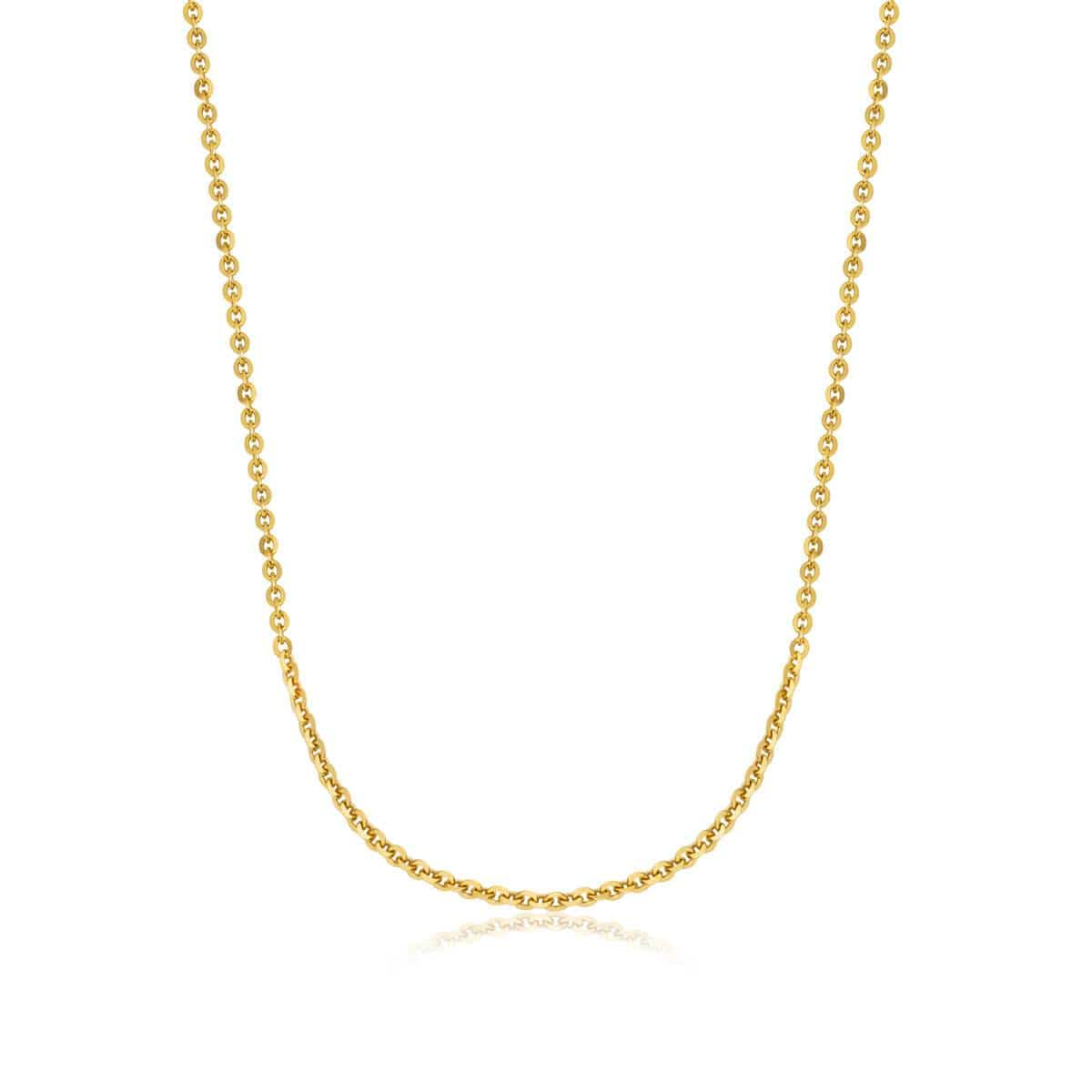 Sterling Silver Chain (Gold)