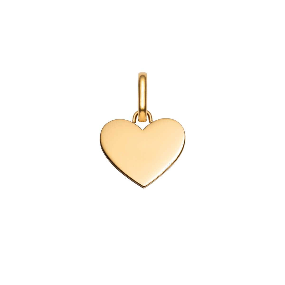Selected Heart Pendant (Gold)