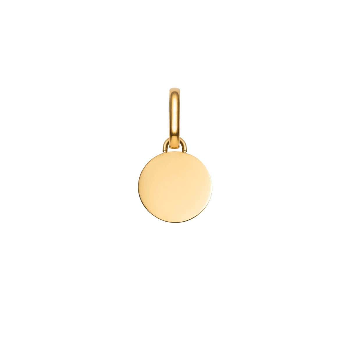 Selected Circular Pendant (Gold)