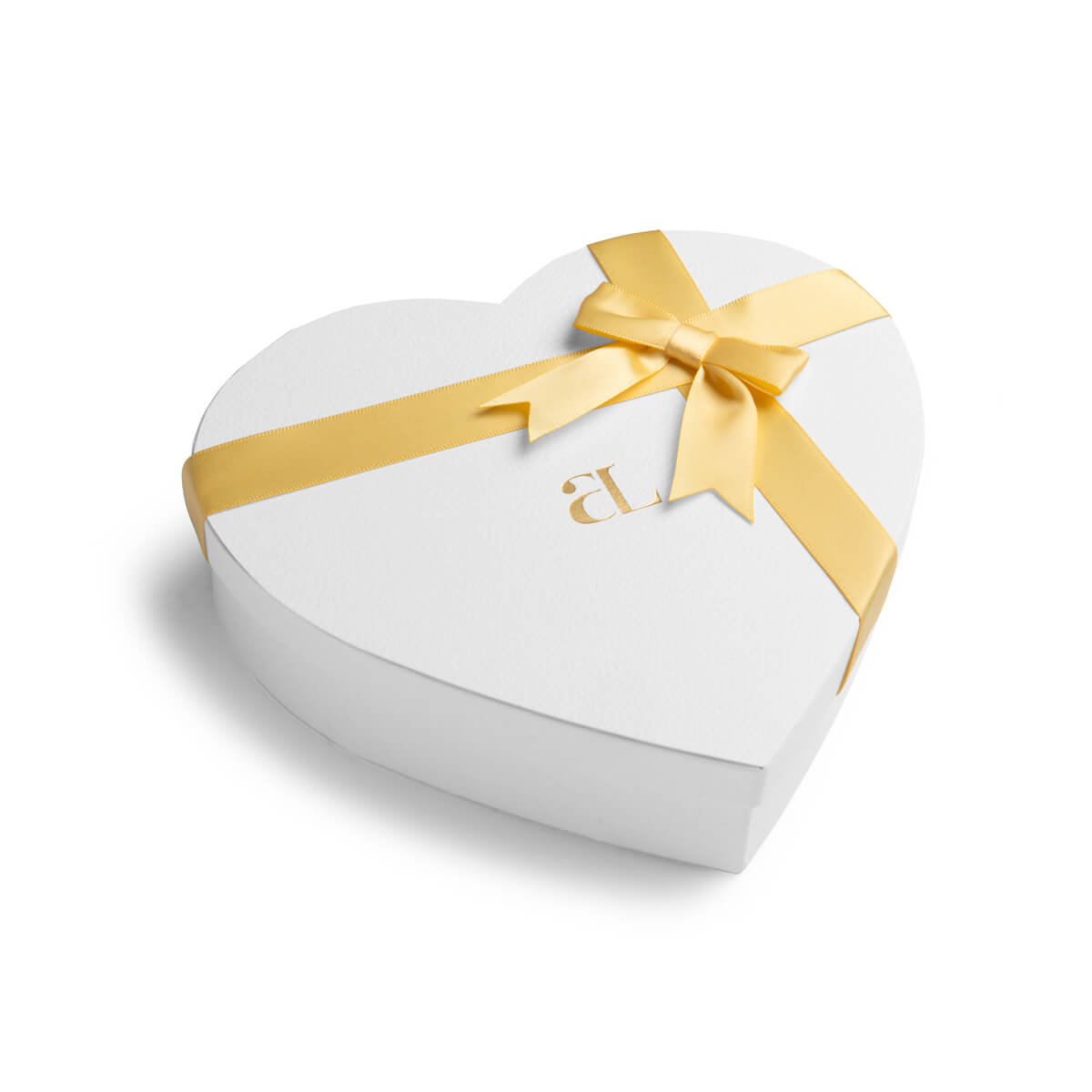 Heart Curb & Letter Sphere Chain Love Gift Set (Silver)