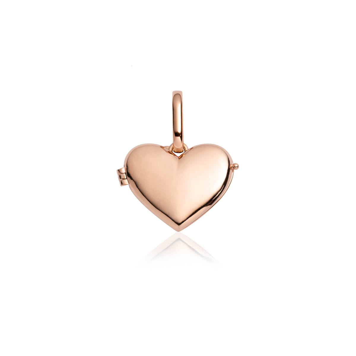 Love Locket Pendant (Rose Gold)
