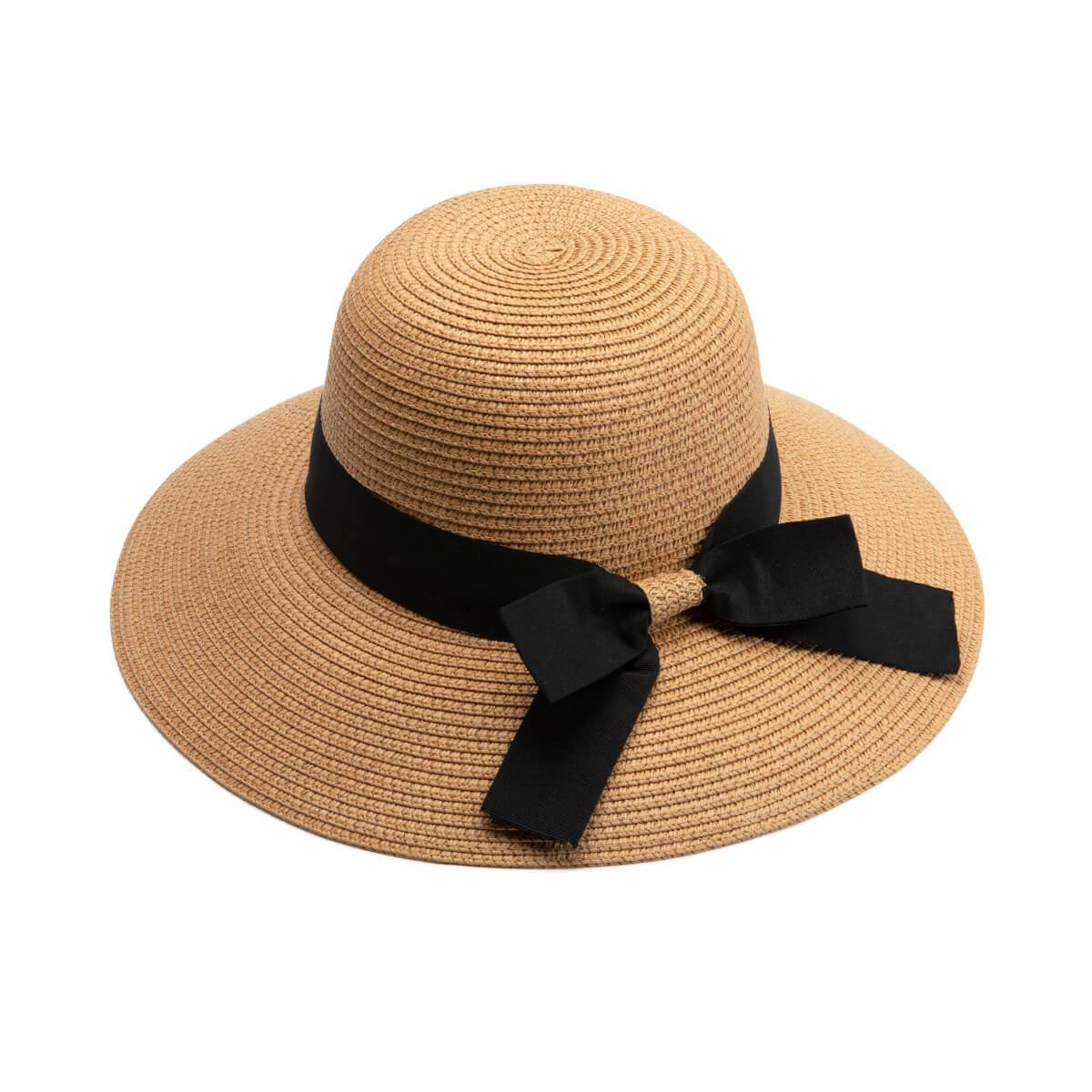 Straw Resort Wide Brim Hat
