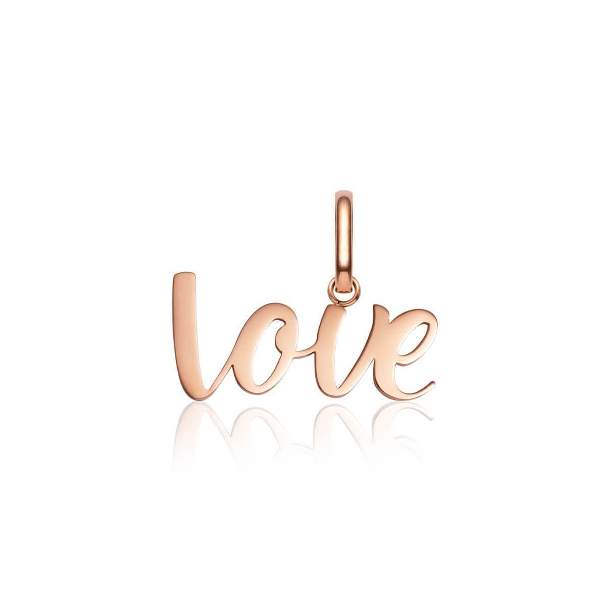 Love Pendant (Rose Gold)