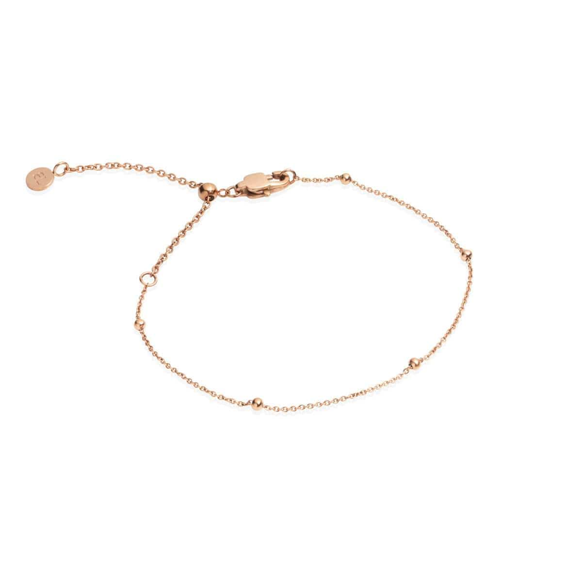 Sphere Chain Bracelet (Rose Gold)