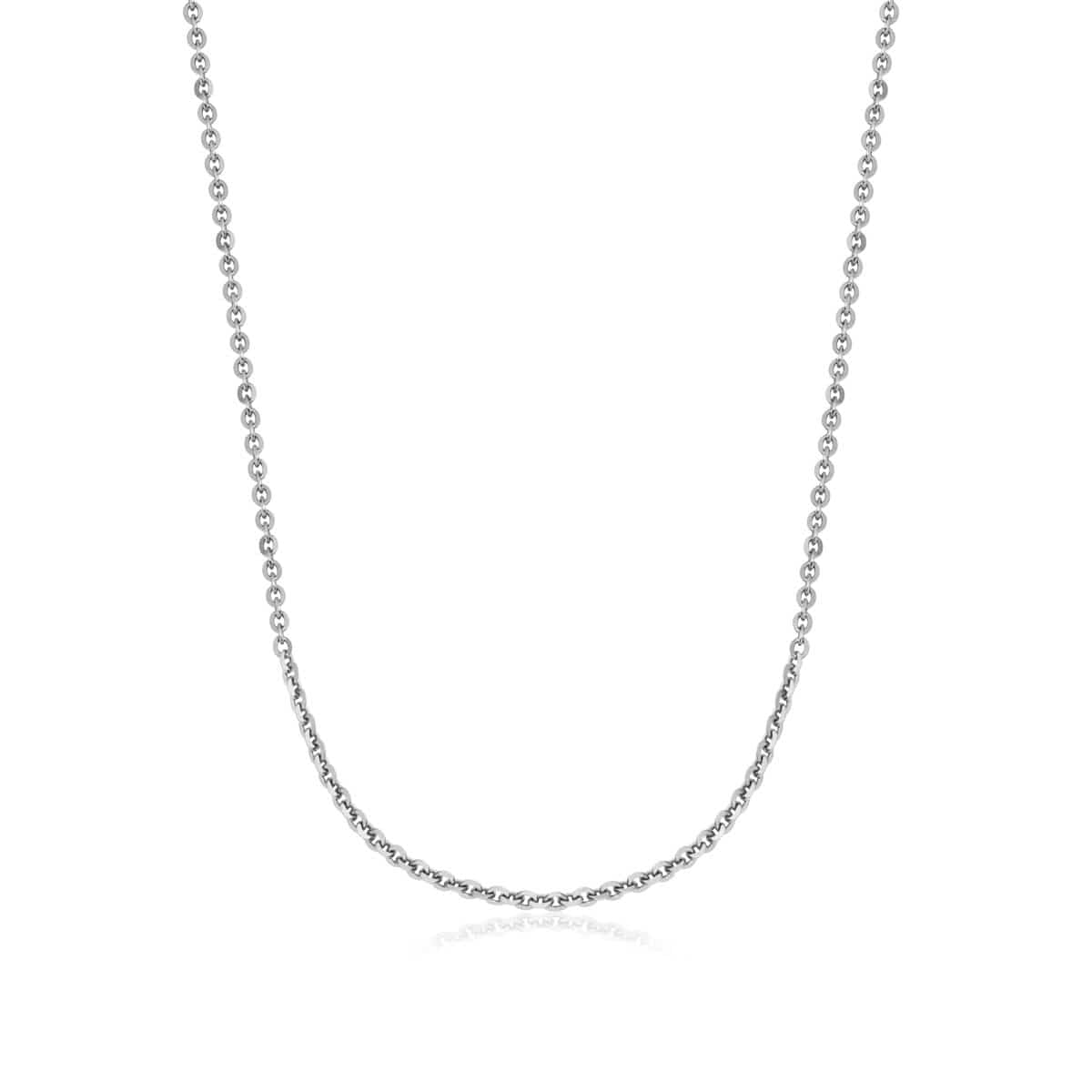 Sterling Silver Chain (Silver)