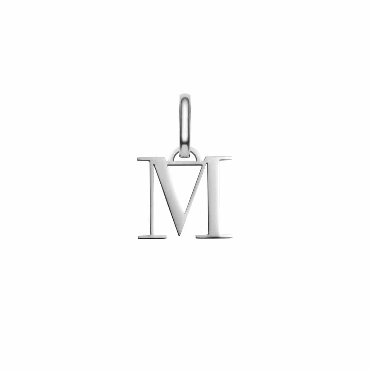 Selected Letter Pendant (Silver).