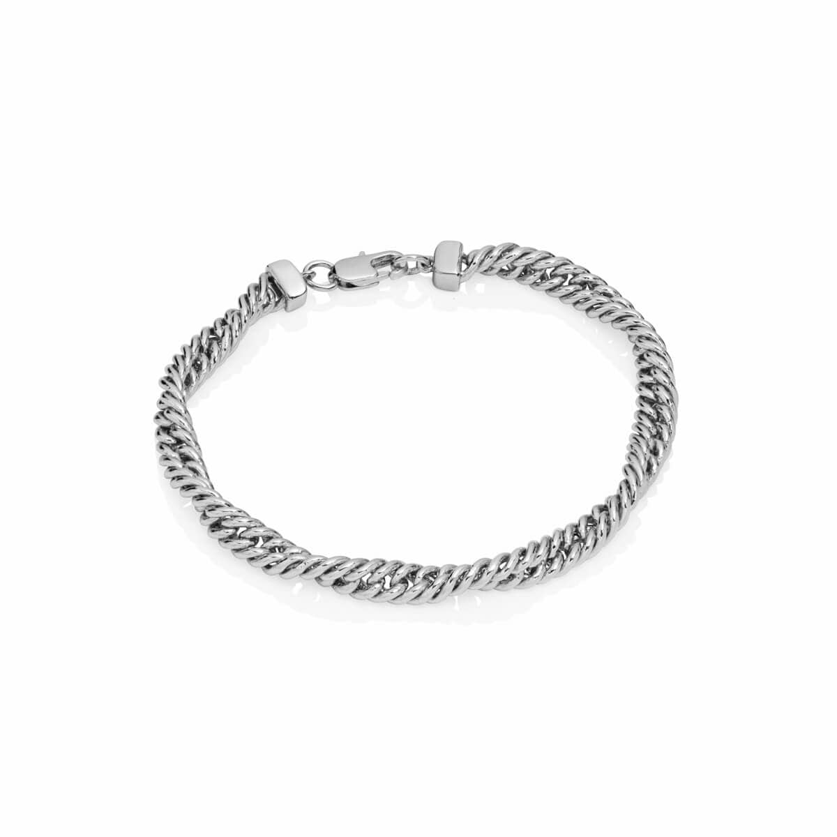 Selected Rope Chain Bracelet (Silver)