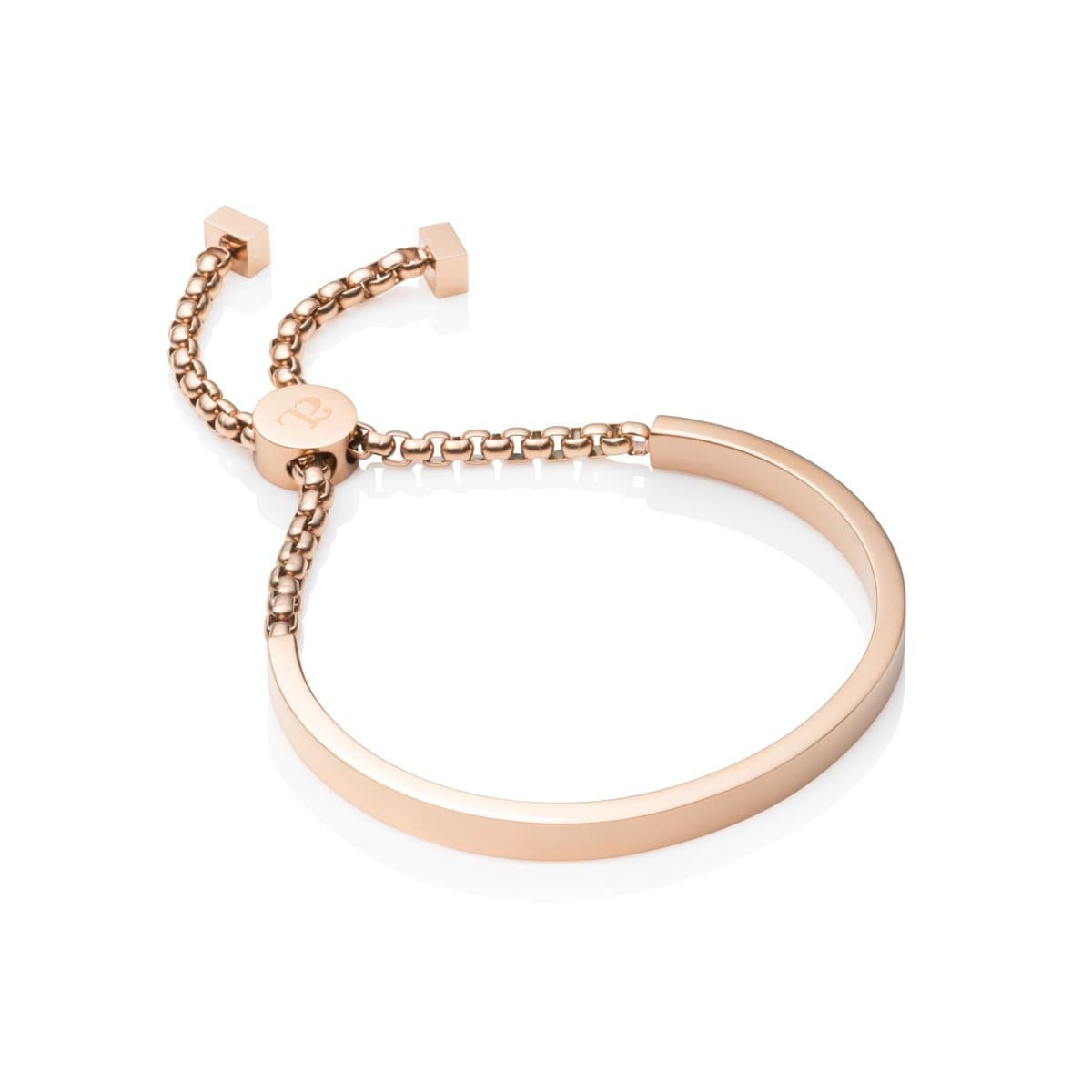 Curve Armband (Rose Gold)