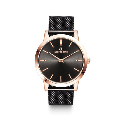 Black Luxe 40 Mesh (Black/Rose Gold)