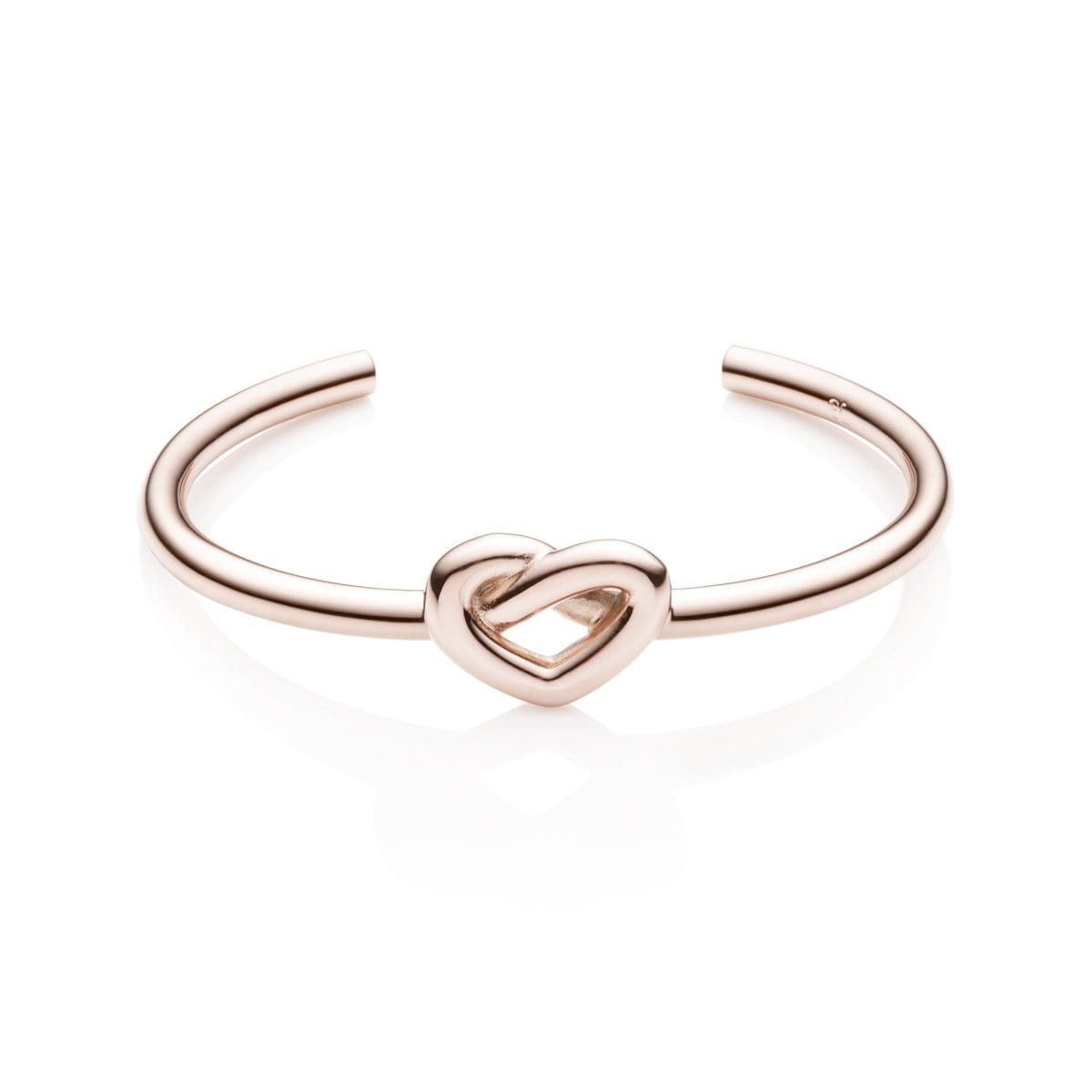 Heart Knot Armreif (Blush)