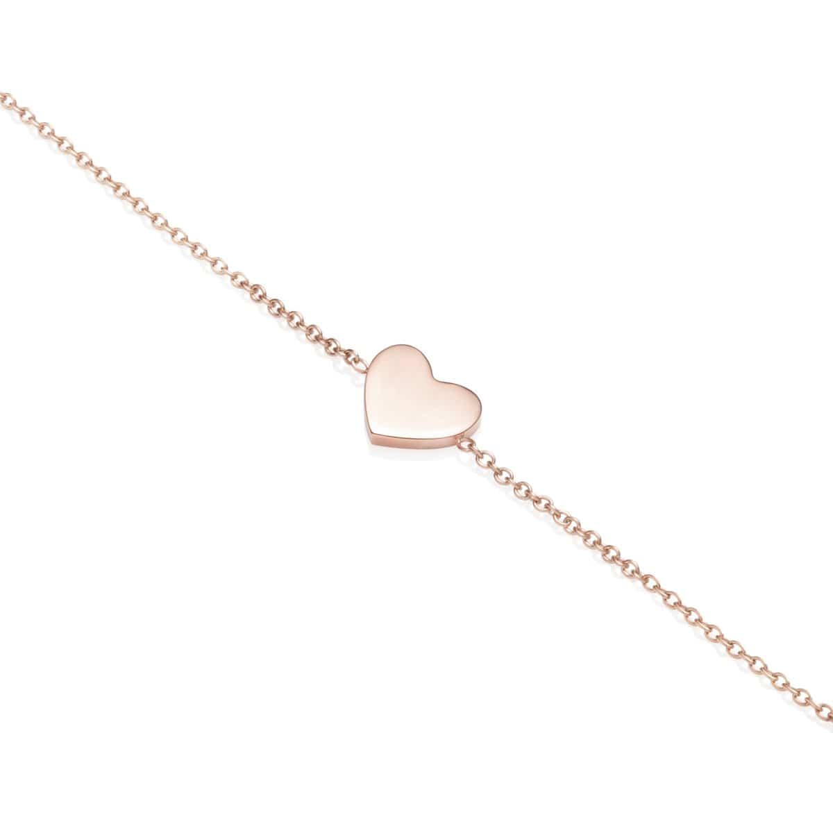 Little Luxe Heart Armband (Blush)