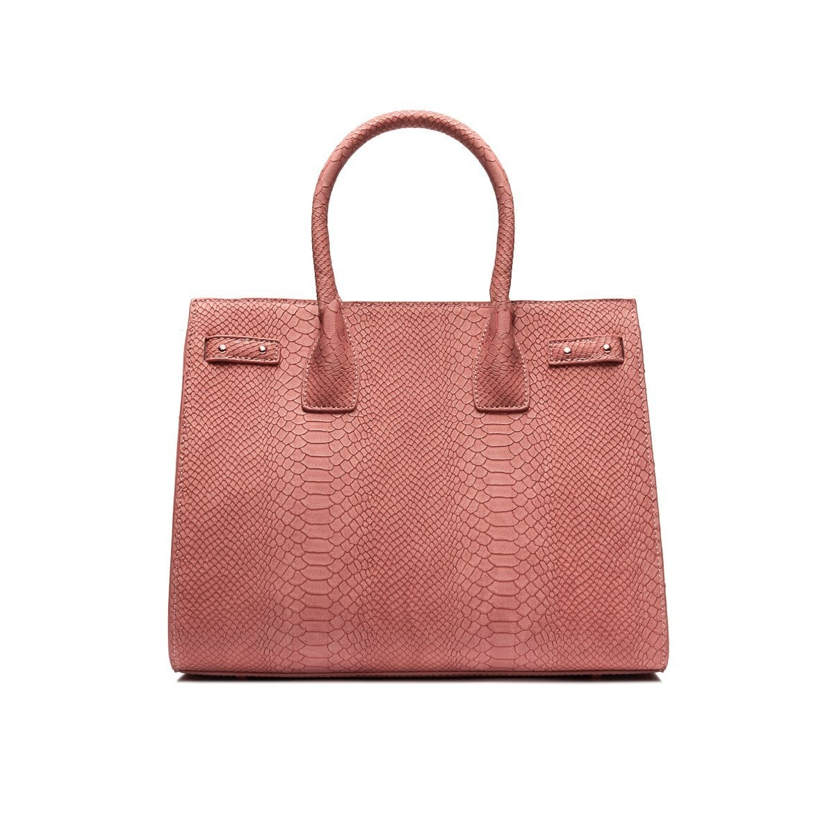Dusky Nude Isla Handbag Rose Gold