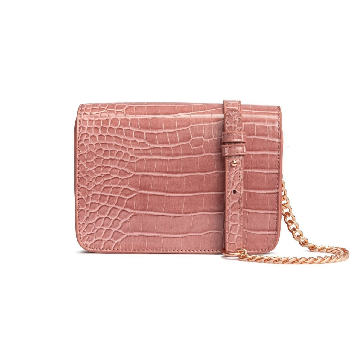 Personalise Crossbody Bag (Dusky Rose/Rose Gold)