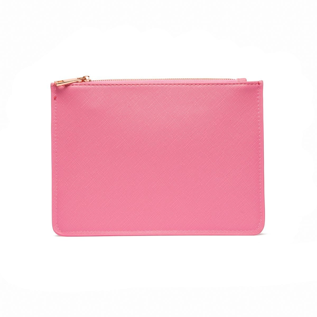 Flamingo Pink Sienna Clutch