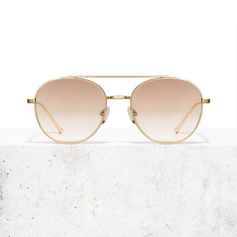 Gold Taupe Faded Vita Sonnenbrille