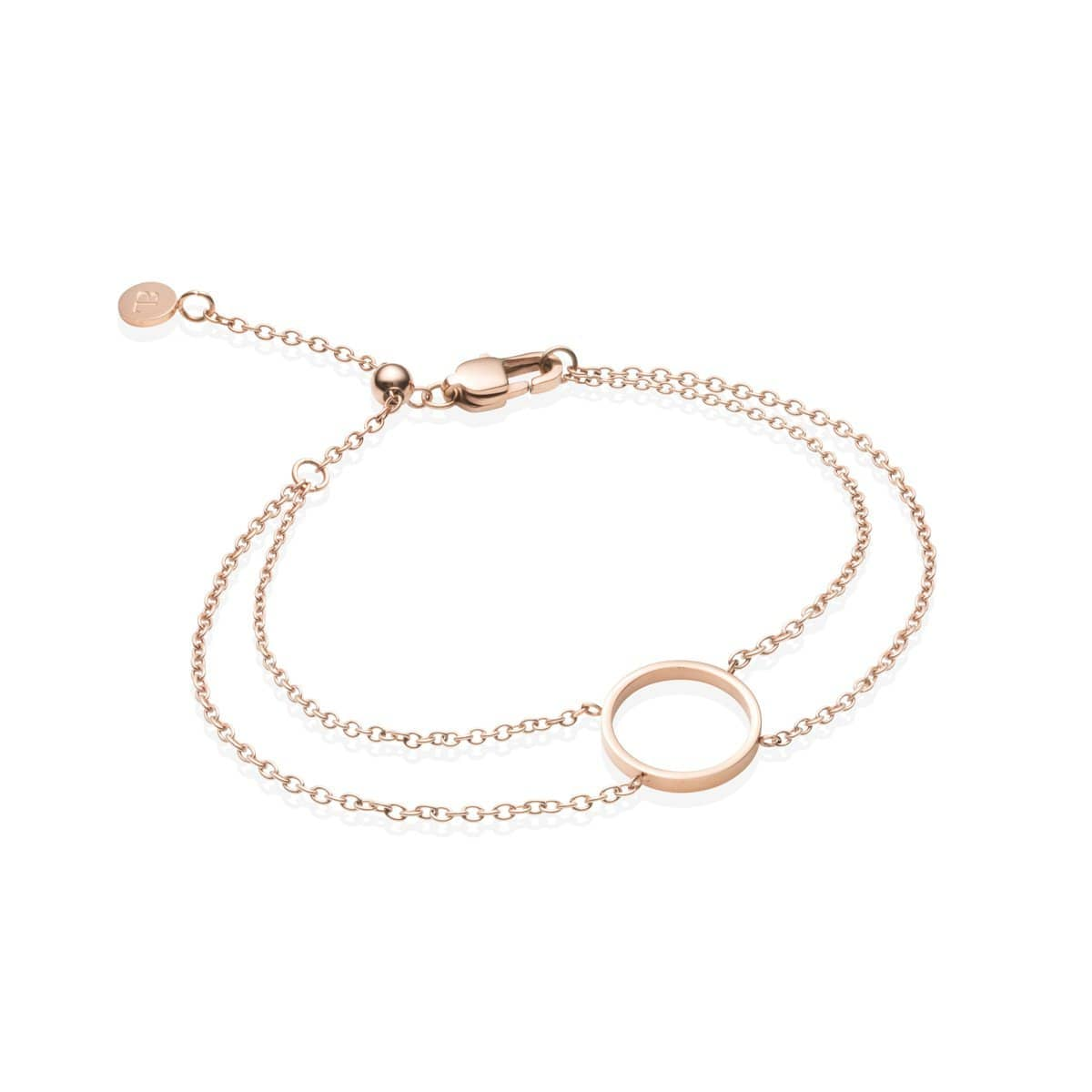 Little Luxe Eclipse Bracelet (Rose Gold)