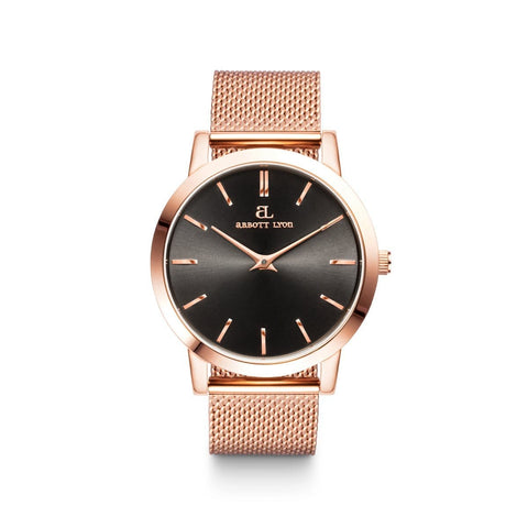 Rose Gold Luxe 40 Mesh (Black/Rose)
