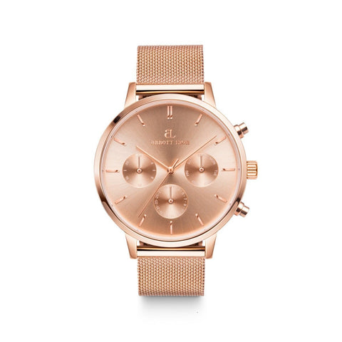 Rose Gold Mesh Nueva (Rose/Rose)