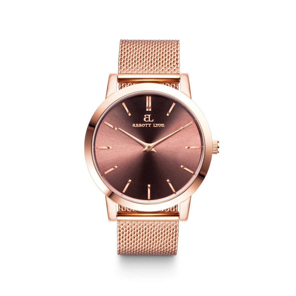 Rose Gold Luxe 40 Mesh (Rose/Mocha)