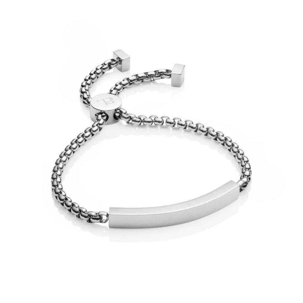Personalise Chain Bracelet (Silver)