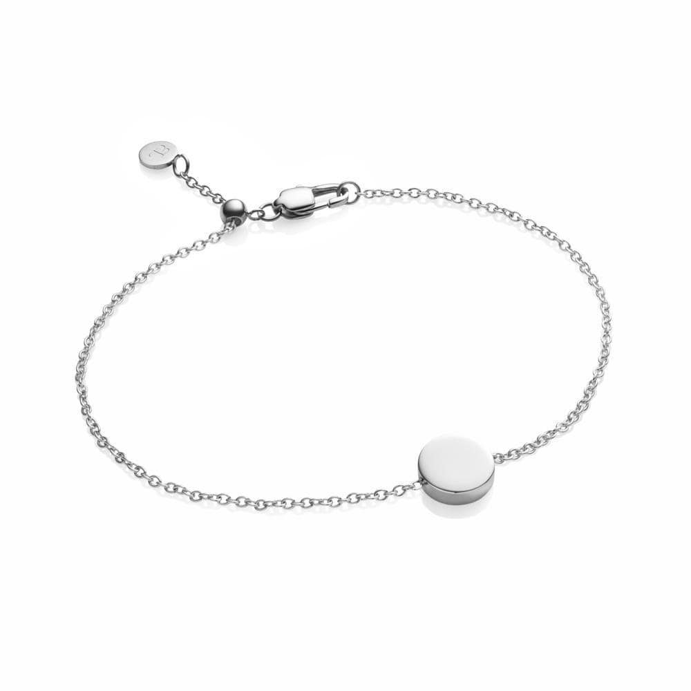 Little Luxe Disc Armband (Silver)