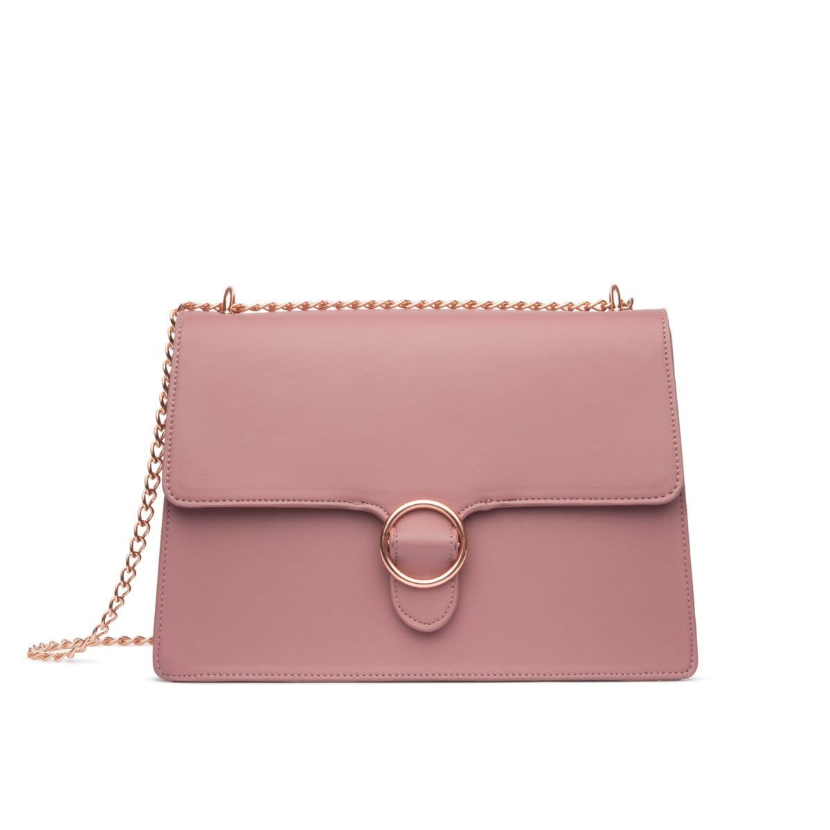 Mauve Mara Handbag Rose Gold