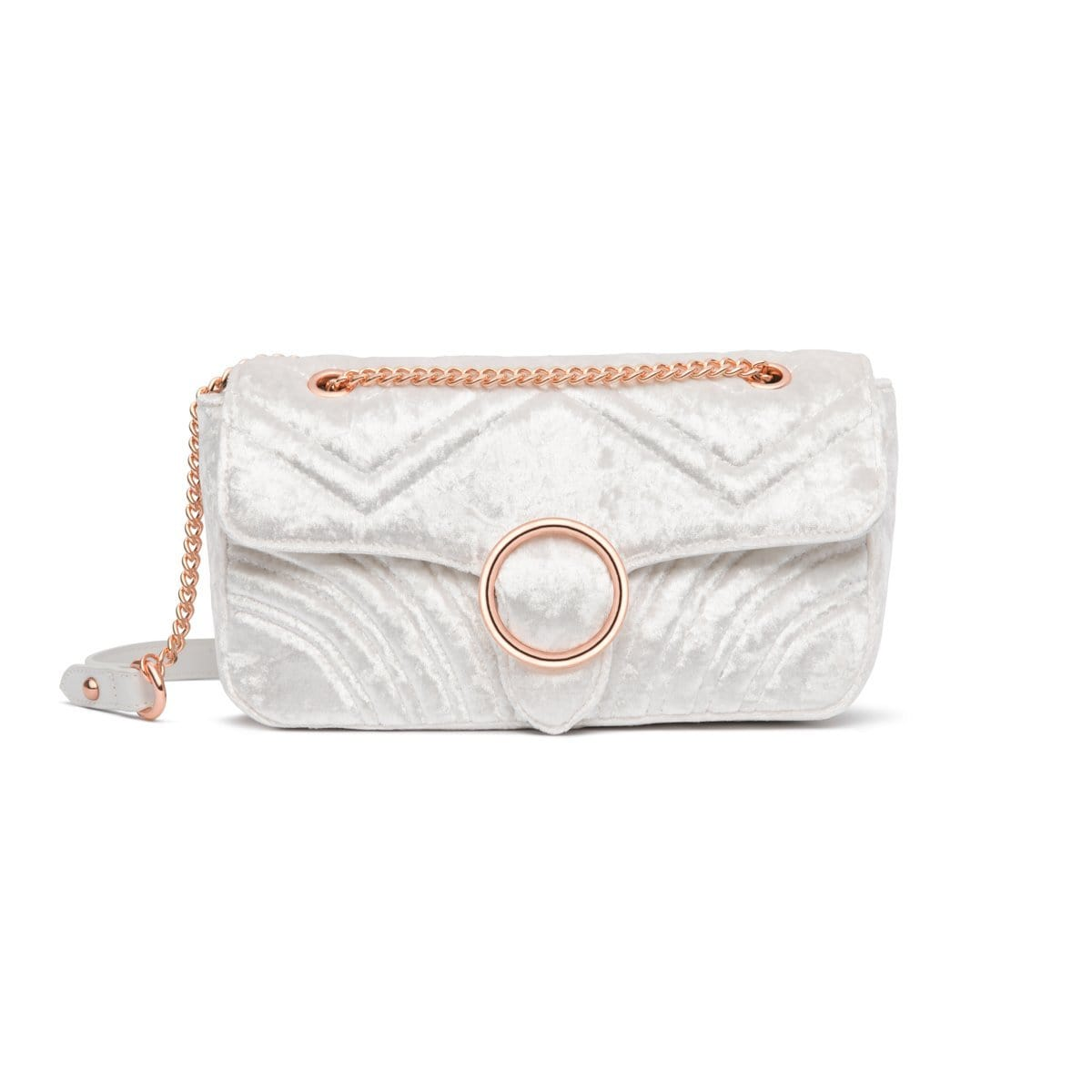Snow White Gigi Handbag Rose Gold