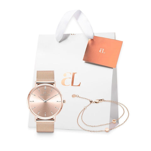 Blush Stellar Little Luxe Double Disc 40 Mesh Geschenkset (Blush/Rose)
