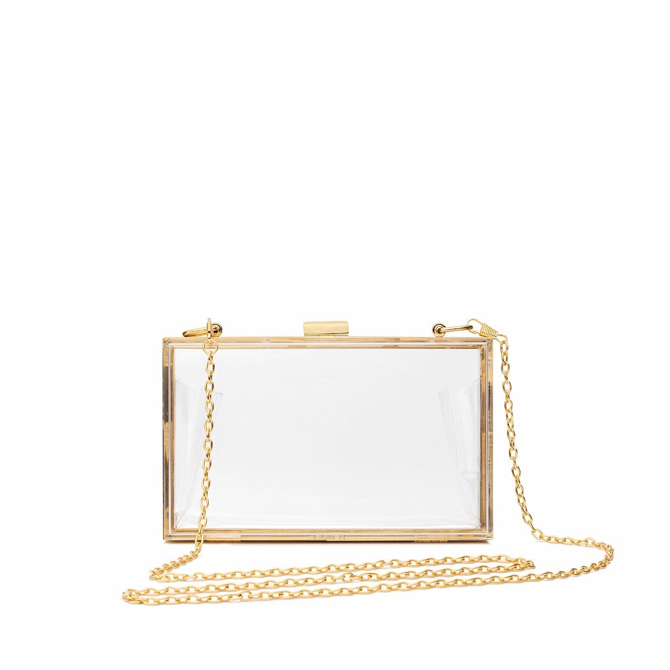 Chloe Clutch (Yellow Gold)