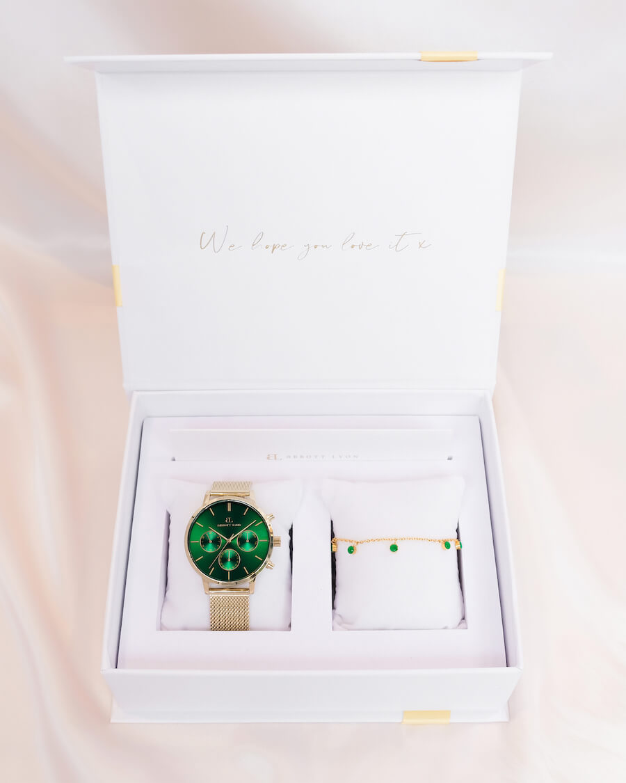 Emerald Nueva Gift Set (Gold)