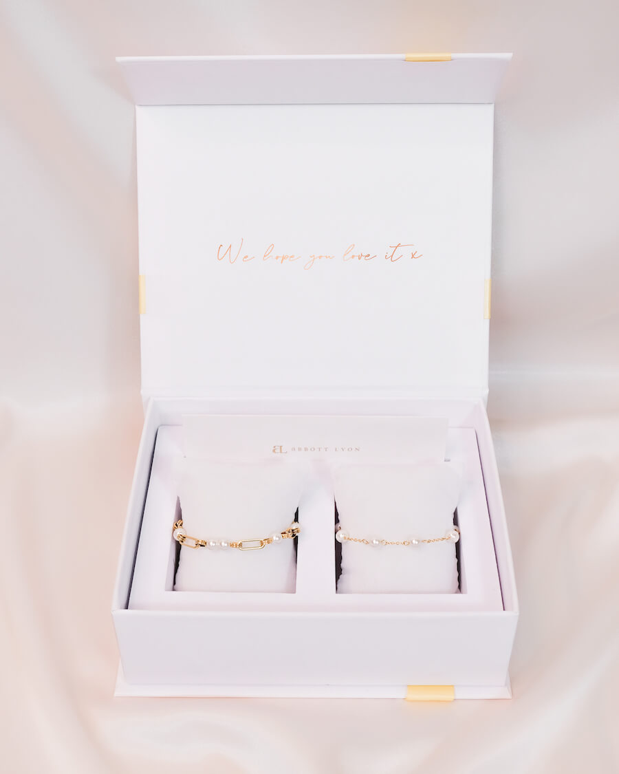 Pearl Gift Set (Gold)