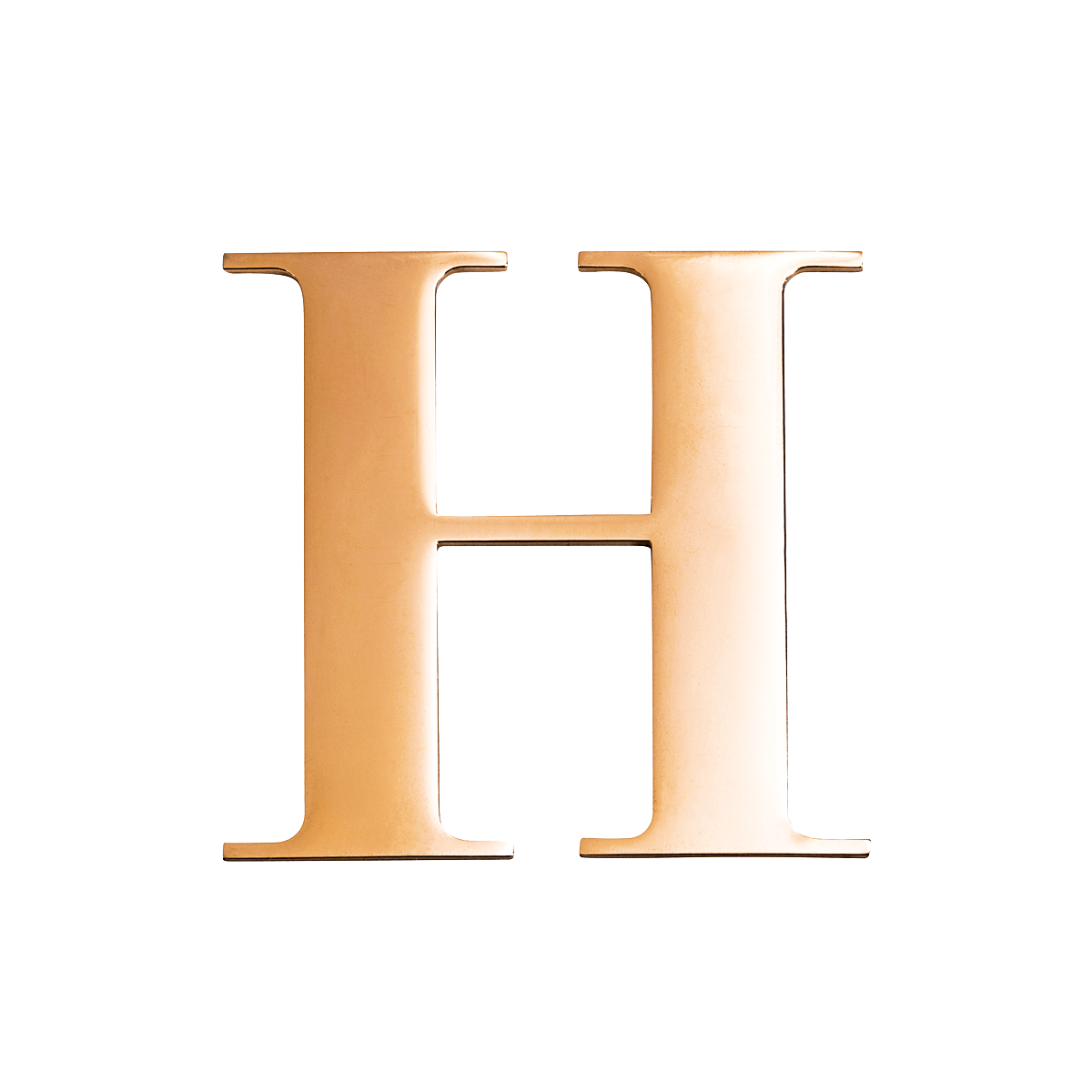 PERSONALISE LETTERS - ROSE GOLD