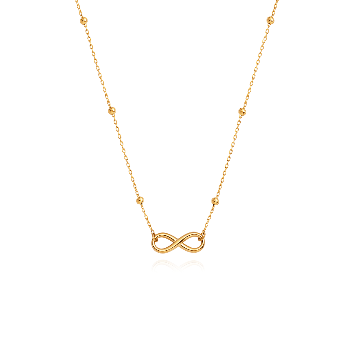 Forever And Ever Necklace (Gold)