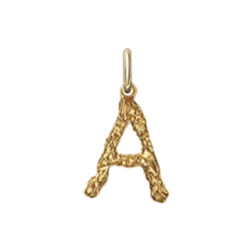 Selected Foil Letter Pendant (Gold).