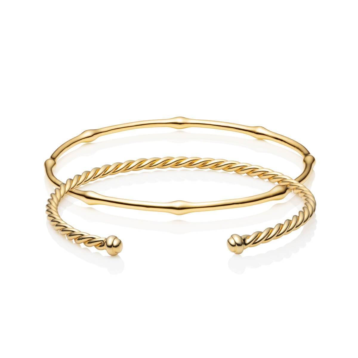 Athena Bangle Set (Gold)