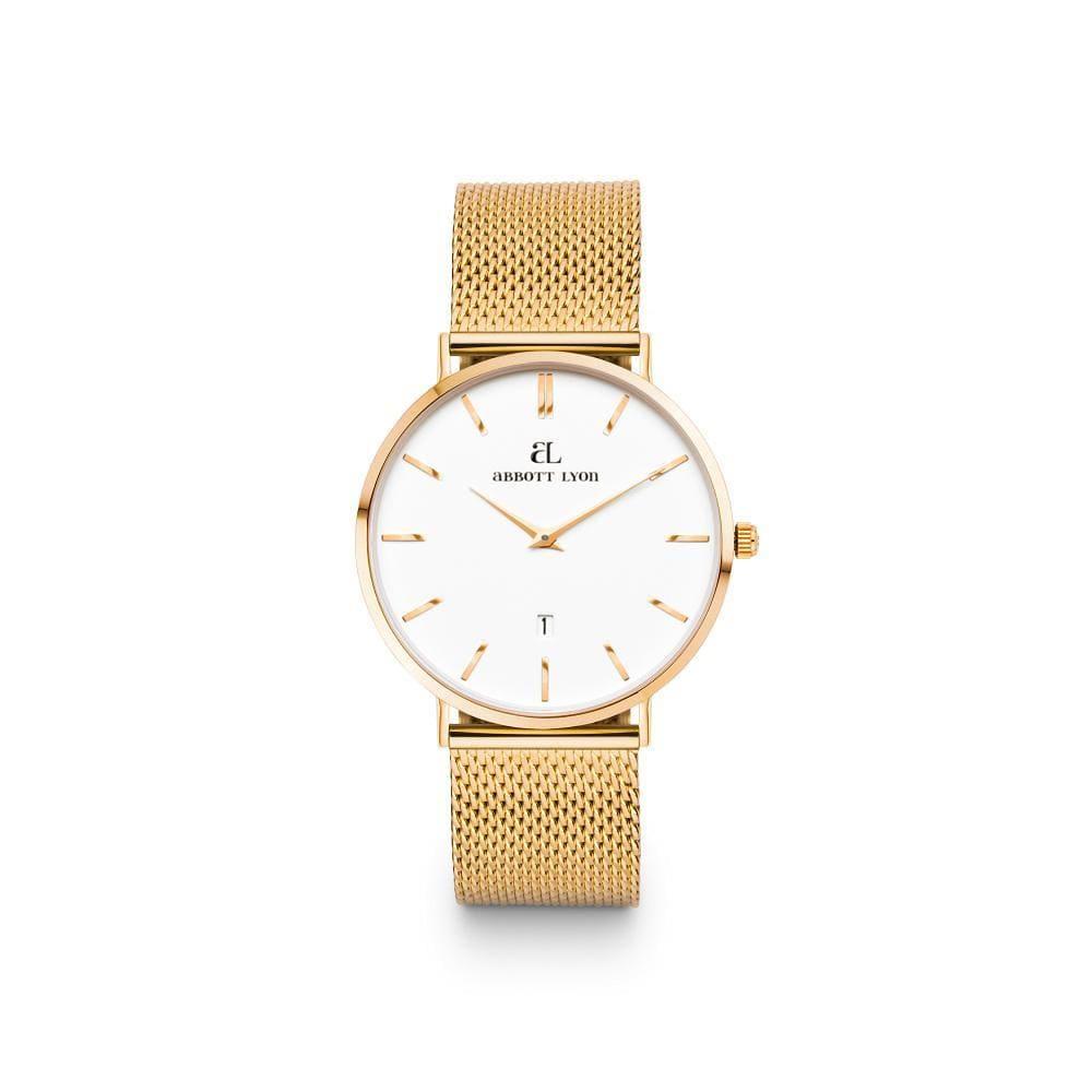Gold Kensington White 34 Mesh