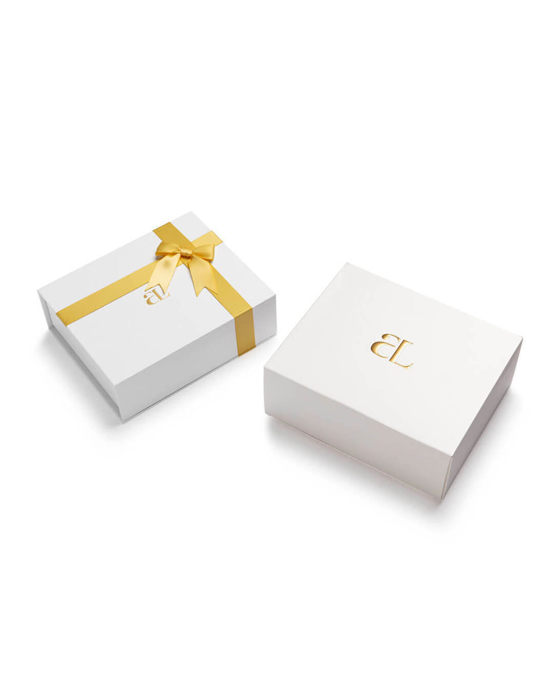 Circular Curb Chain Personalise Gift Set (Gold)