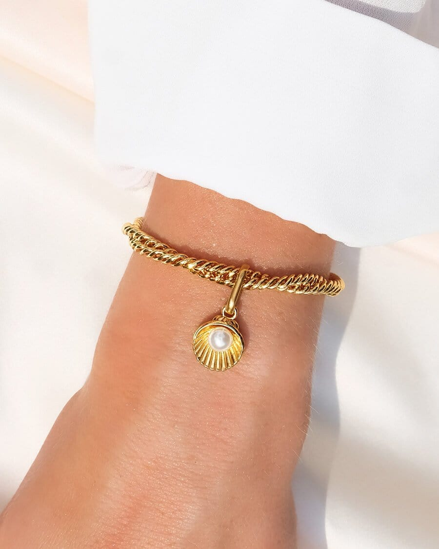 Rope Chain Bracelet (Gold)