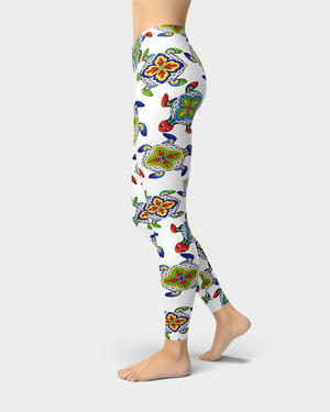 Mexican Sea Turtle Leggings